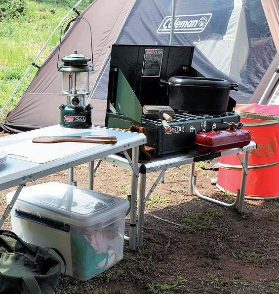 请点击输入图片描述   ▲ 以三人自驾露营为例,至少需要携带一个3人—4人帐篷,一个3mx3m的天幕、一个旅行桌、三把折叠椅、2个炉头(一个煮水、一个做饭菜)套锅一套.