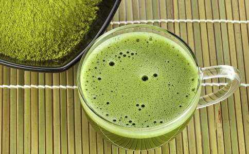 夏季喝绿茶减肥减肥不会喝水会图片