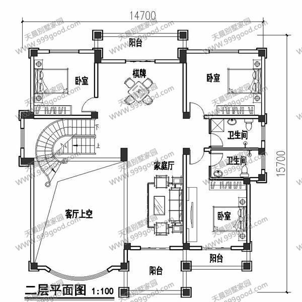 7x15.7米别墅设计图,你是不是也想建!