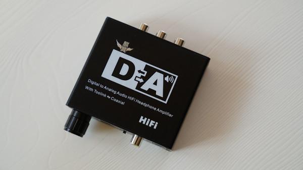 同轴转光纤_DTS_Spdif转35_数字转模拟转换器