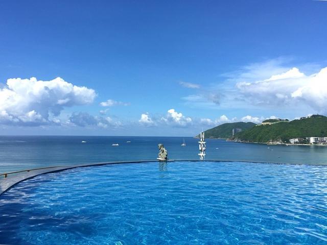 特别说下我们定的哈曼度假酒店,五星级,出门走五分钟就是大东海.图片