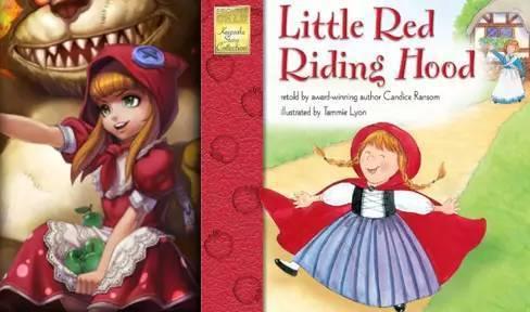 小红帽——安妮=童话故事 小红帽