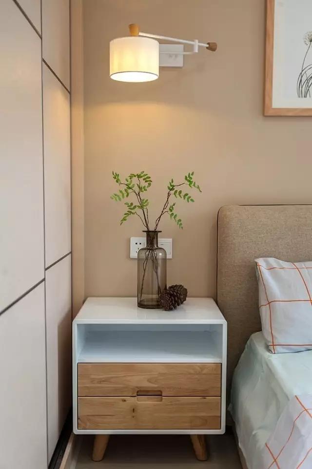西安98㎡北欧风装修风格,客厅可以直接看大片