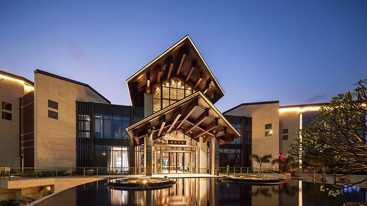 新亚洲风格_设计上采用的传统且典雅的新亚洲风格的南宁彰泰红