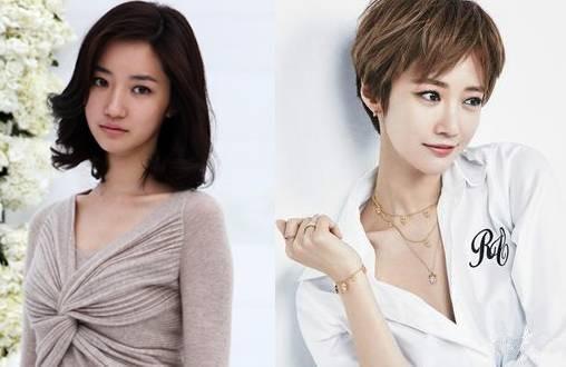 这时候不得不提的就是韩国的短发精灵高俊熙,看到她才知道原来短发还图片