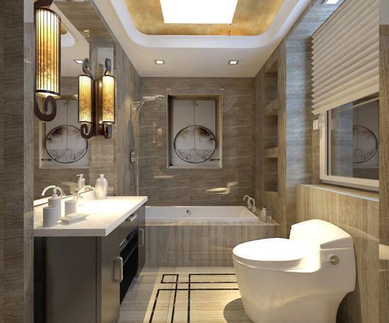 清雅含蓄的新中式风格别墅装修案例