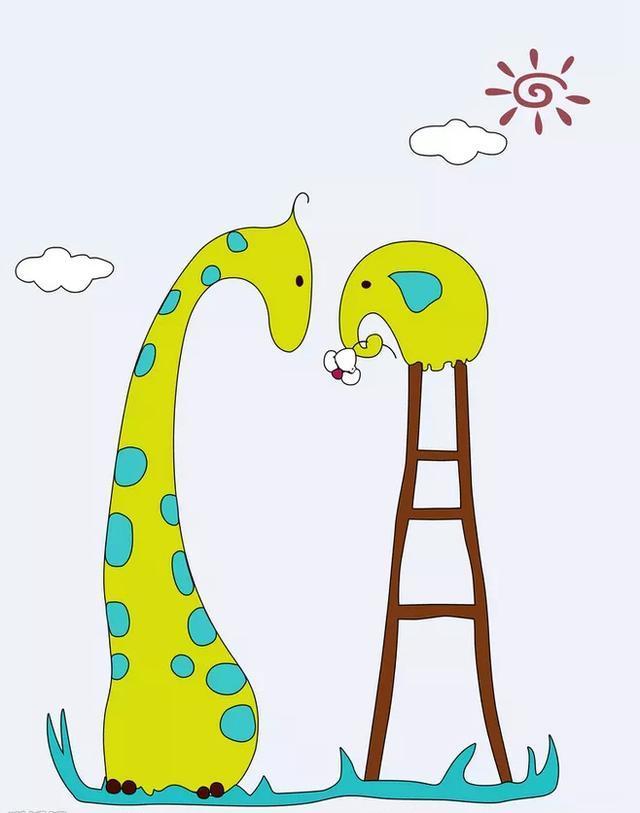 200例萌萌哒手绘动物简笔画分享,喜欢手账和想学画画