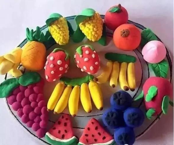 水果粘土手工制作图片