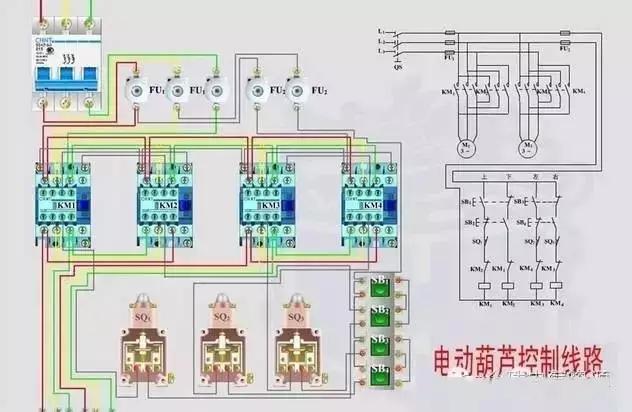 推荐|电气接线图与原理图大合集,拿走不谢!