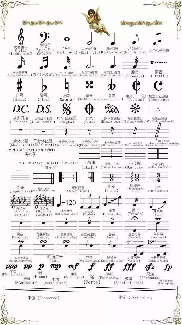 杭州音乐艺考五线谱入门,轻松学习五线谱上的符号