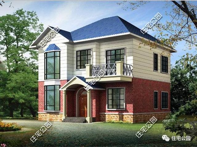 7套面宽10米的农村别墅,第5套18万你建吗
