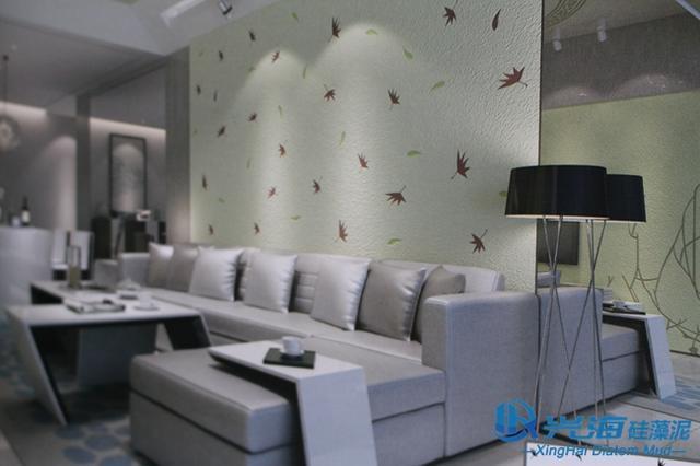 硅藻泥墙面艺术,诠释现代简约之美!