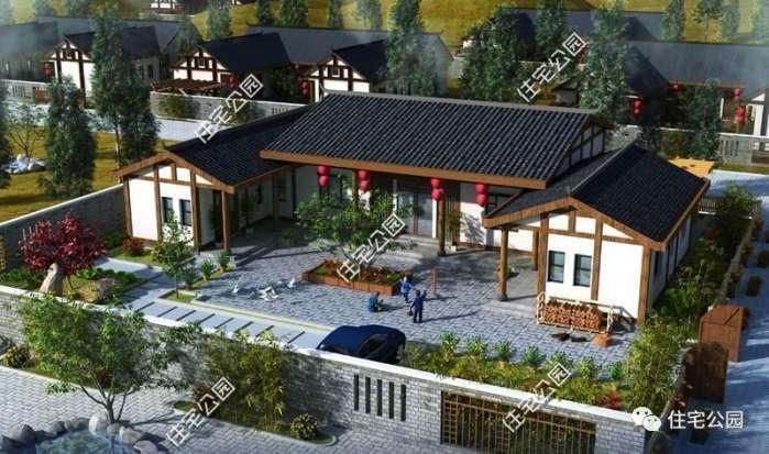 6套新中式农村别墅户型,为啥第五套大家抢着建?