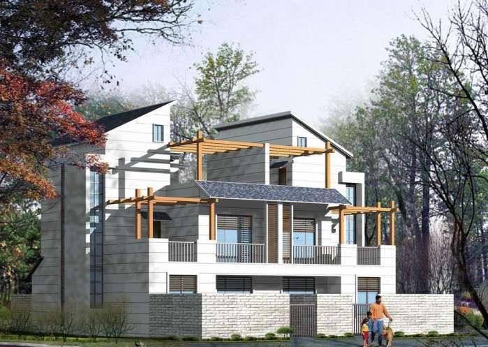 10✘10农村别墅设计图