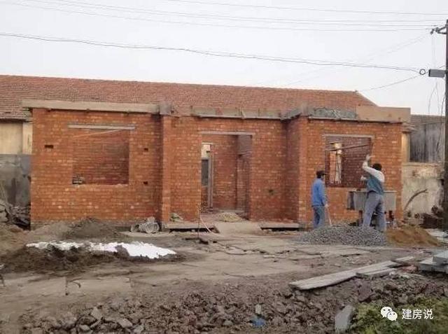庭院自建小路二层自建房,买房城里相比省了不农村网友设计图图片