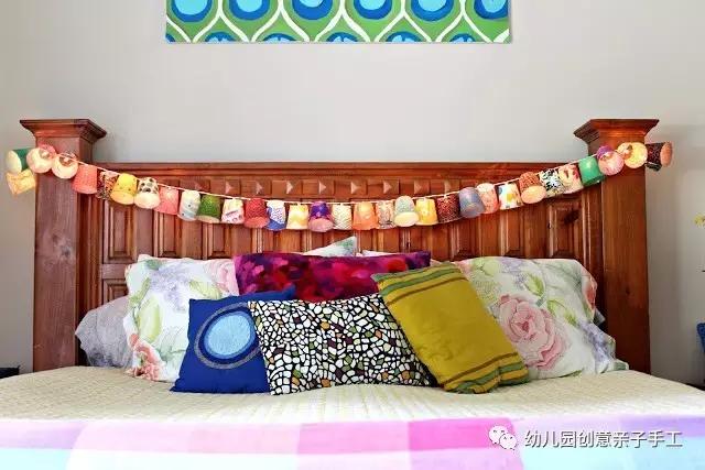 纸杯手工制作床