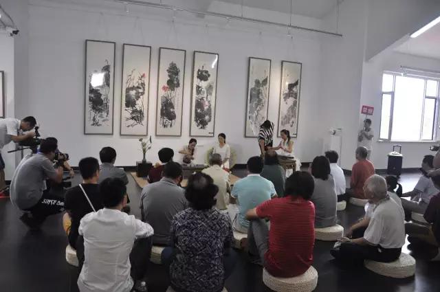 《心印莲花--中国书画名家邀请展》在光辉画馆开展