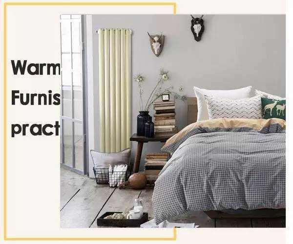 房产 正文  暖气片装修效果图 卧室装饰元素,更加贴近主人的心理颜色.