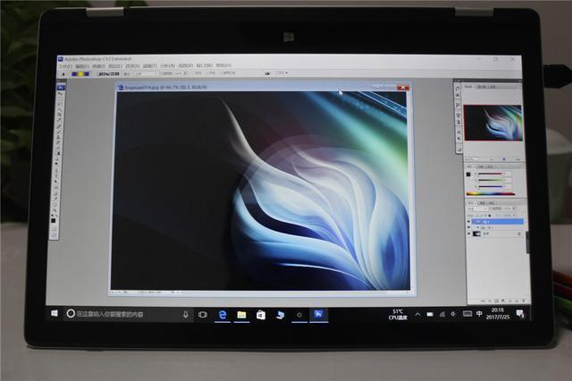 13.3寸屏幕360度翻转的可触控笔记本电脑