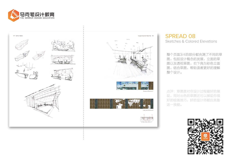 室内设计作品集书籍解析(二)vi设计参考案例图片