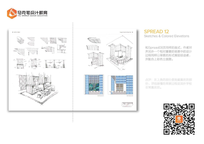 室内设计作品集工具解析(二)ps是绘制稿什么案例的线图片