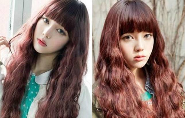 卷发染什么发色好看 7款时尚流行发色让你靓起来图片