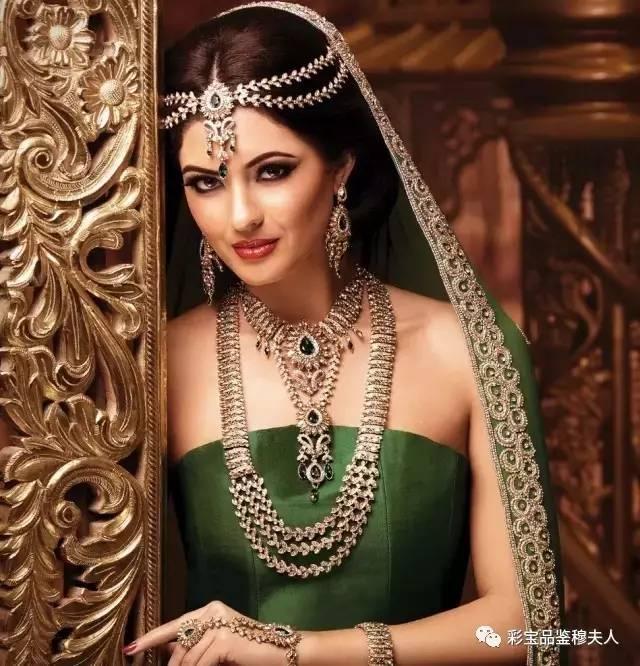 穆夫人彩宝第66期——在印度,女人再穷也要戴首饰