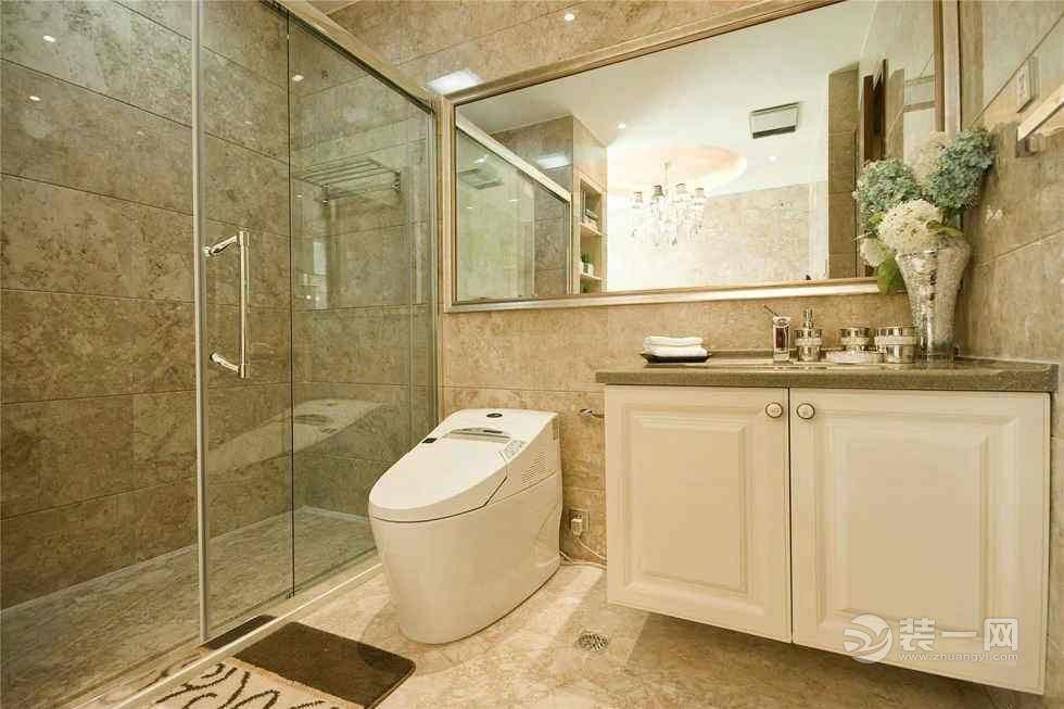 卫生间干湿分离隔断材料|方法 九款卫生间玻璃隔断