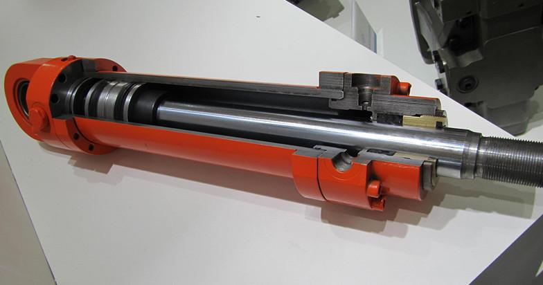 挖掘机液压油缸解剖模型,液压油缸解剖模型图片