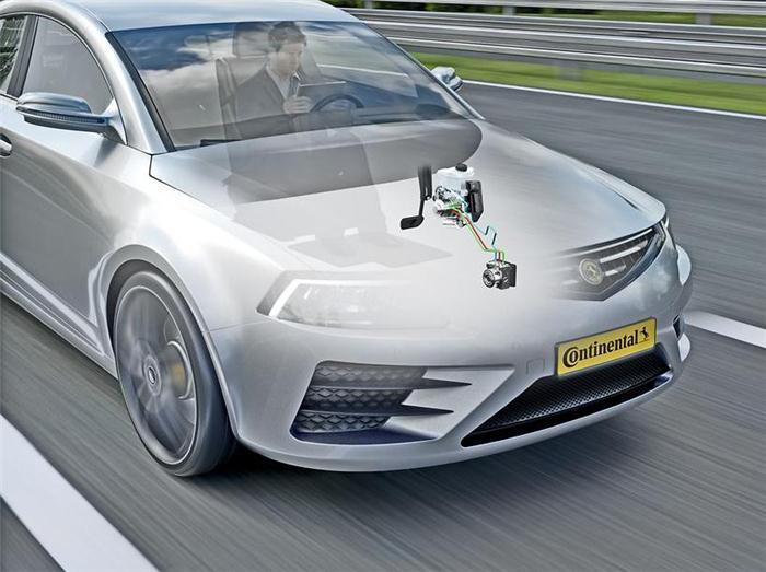 大陆推出MK C1电子制动方案 定位高度自动化驾驶插图