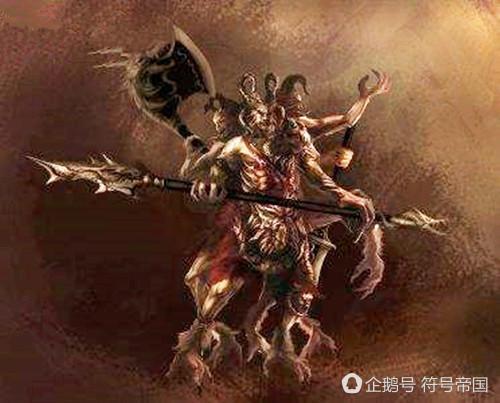 他是上古帝巫,三头六臂铜头铁额,皇帝尊其为战神