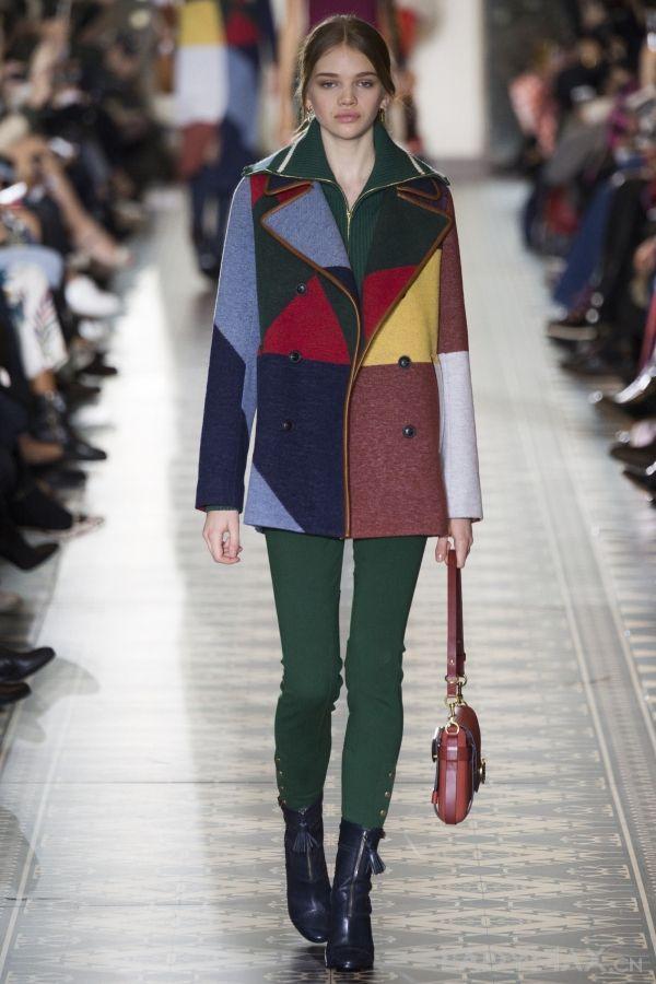 类似色服装_同类色拼接在服装设计中是指用同一色相的面料进行拼接,同种或不同种