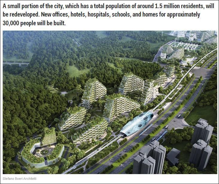 """中国将建""""森林城市"""",预计将于2018年动工?_搜狐社会图片"""
