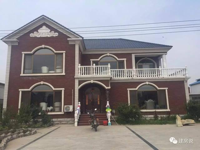 河北地区10栋农村别墅,颠覆了对北方农村住房印象