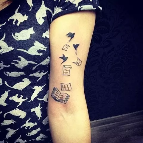33种完美的迷你纹身让你更有范儿