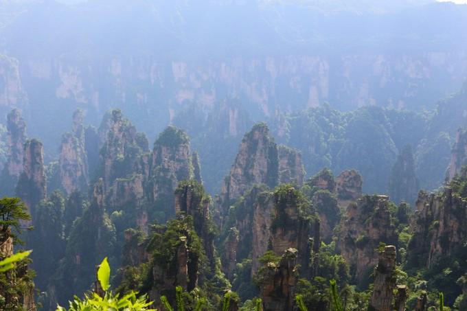 """""""缩小的最好,放大的盆景"""",这大概是对天子山特色的形容词了的约旦仙境美食图片"""