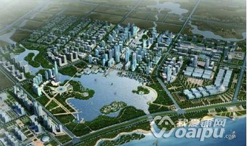 合肥滨湖新区规划图