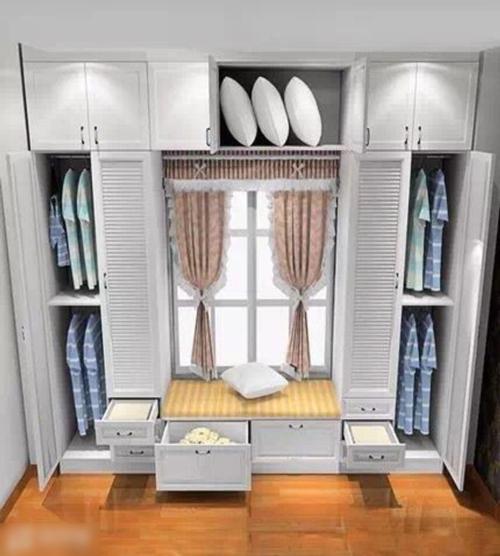 卧室衣柜设计4,衣柜 化妆台