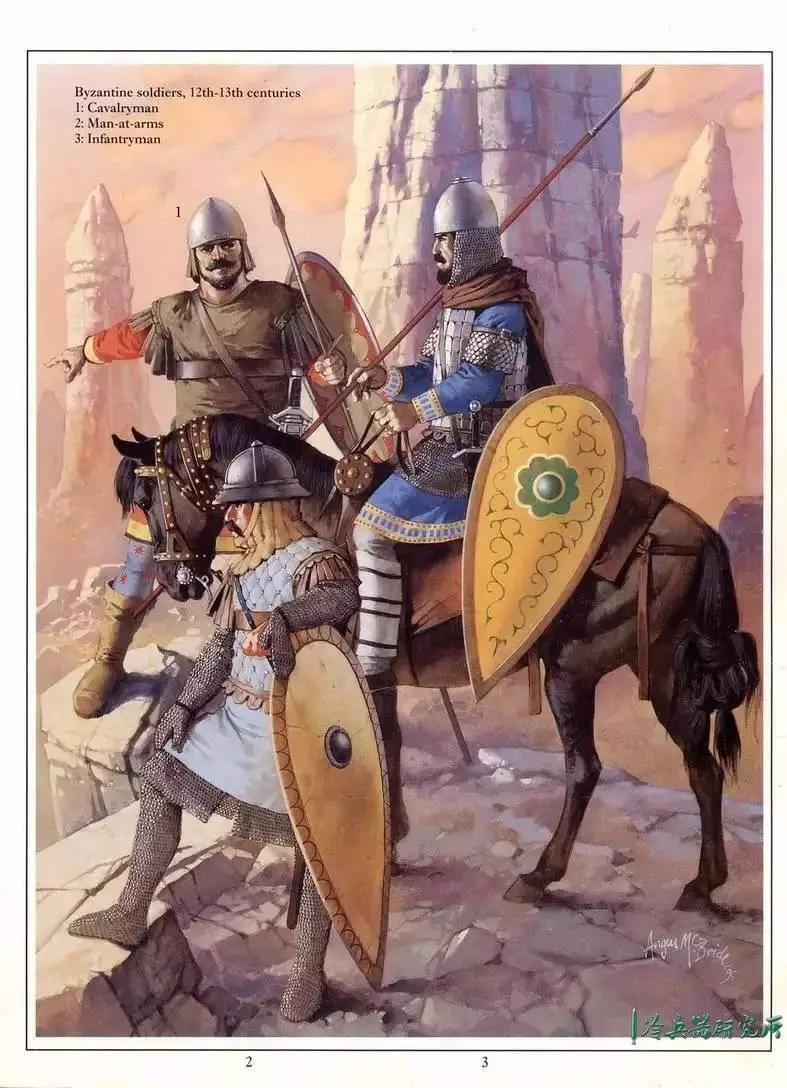 青木葵骑兵_80名西欧骑士打垮500名拜占庭重骑兵!