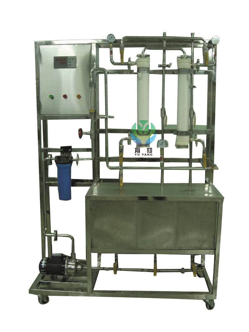 5,水泵:不锈钢离心泵,流量:1m3/h,扬程:30m,功率:370w.