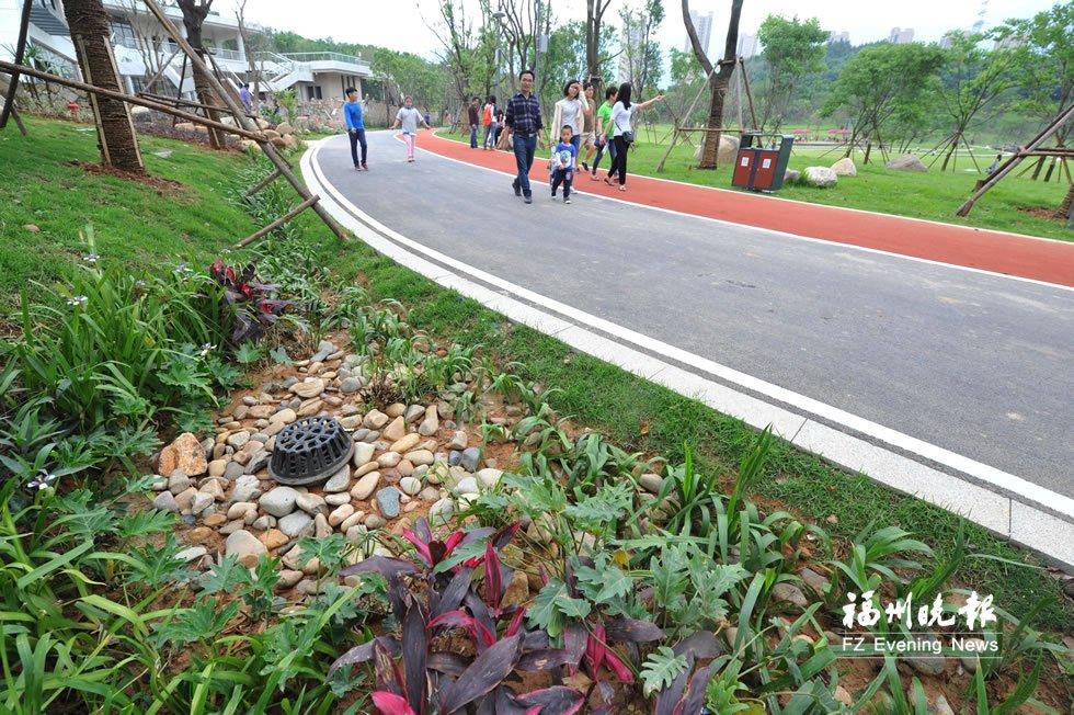"""福州海绵城市建设步入""""快车道"""" 多个项目10月完工"""