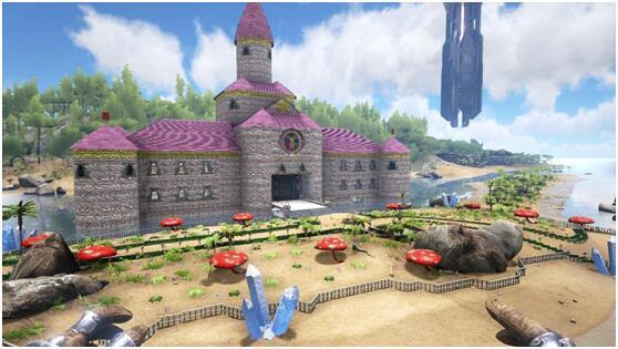 方舟城堡建筑设计图纸