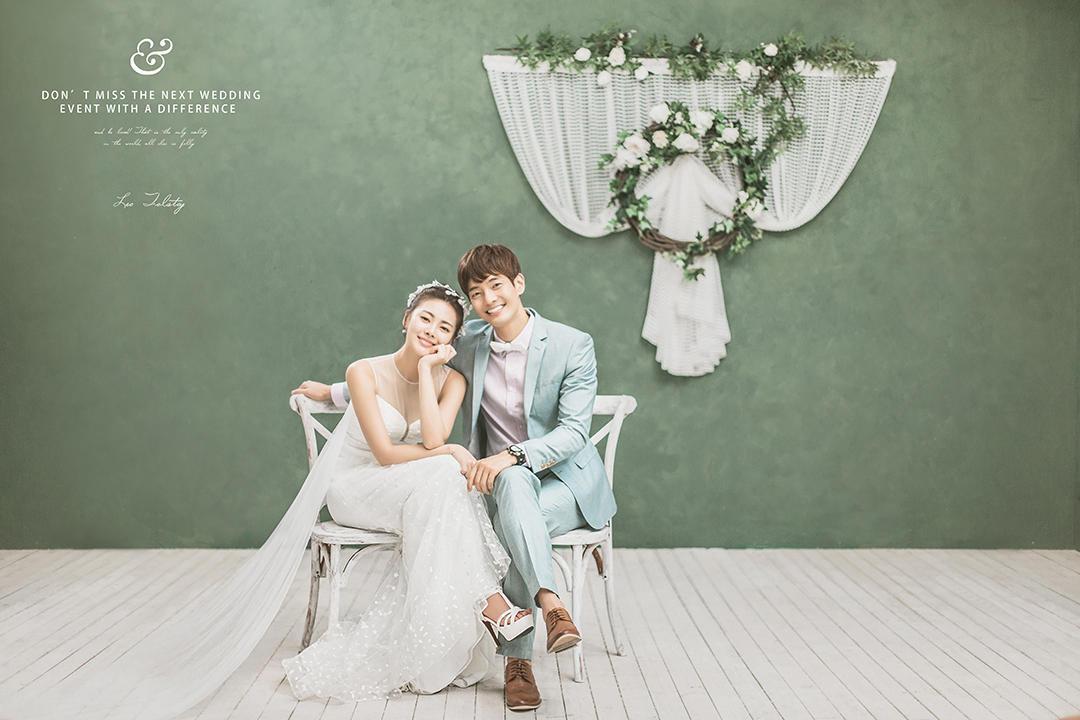 韩式婚纱照:完美诠释清新浪漫之