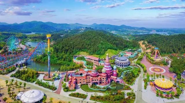 银杏湖-南京版童话王国coming 玩的就是心跳 来嗨吧