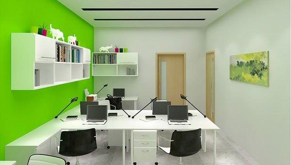 小型办公室设计七大要点
