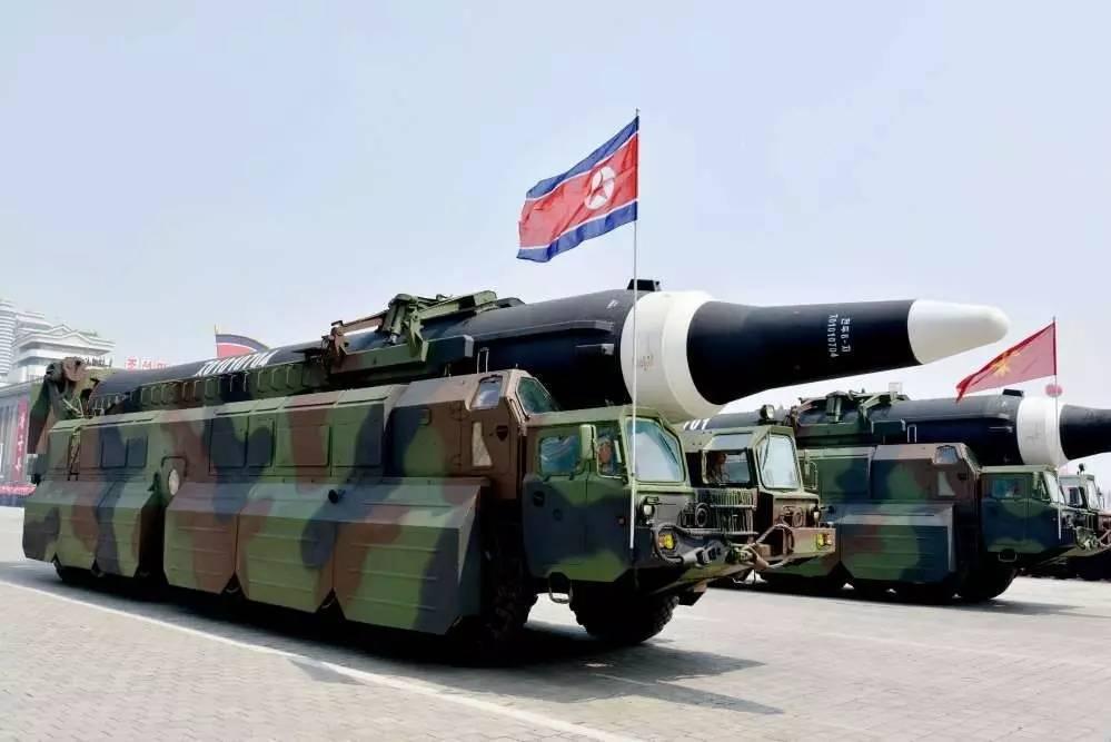 其实,朝鲜是在回击美国总统特朗普8日放出的狠话.