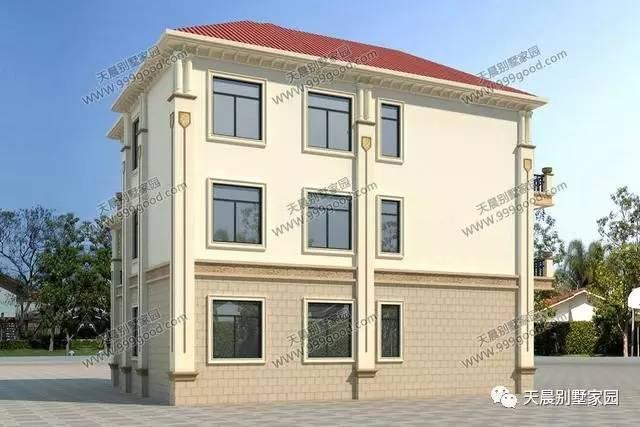设计师倾心力作13.9x13.2米农村别墅,适合小宅地