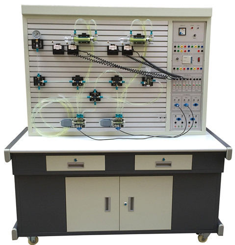 液压传动控制技术以plc控制的理想的综合性实训设备.图片
