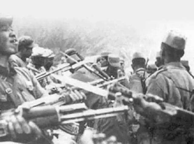 照片 50年前中印边防对峙,毛主席怒下一道命令