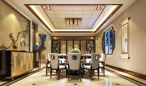 时尚 正文  索菲尼洛新中式卧室 索菲尼洛全房复式吊顶将东风美学与图片